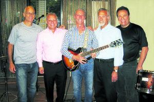 The Kindred Soul band members, from left: Marshall Bluth, drums; Frank Cillufo, bass guitar; Gary Mandell, guitar/vocals; Steve Hoffman, vocals; Jed Berman, keyboard