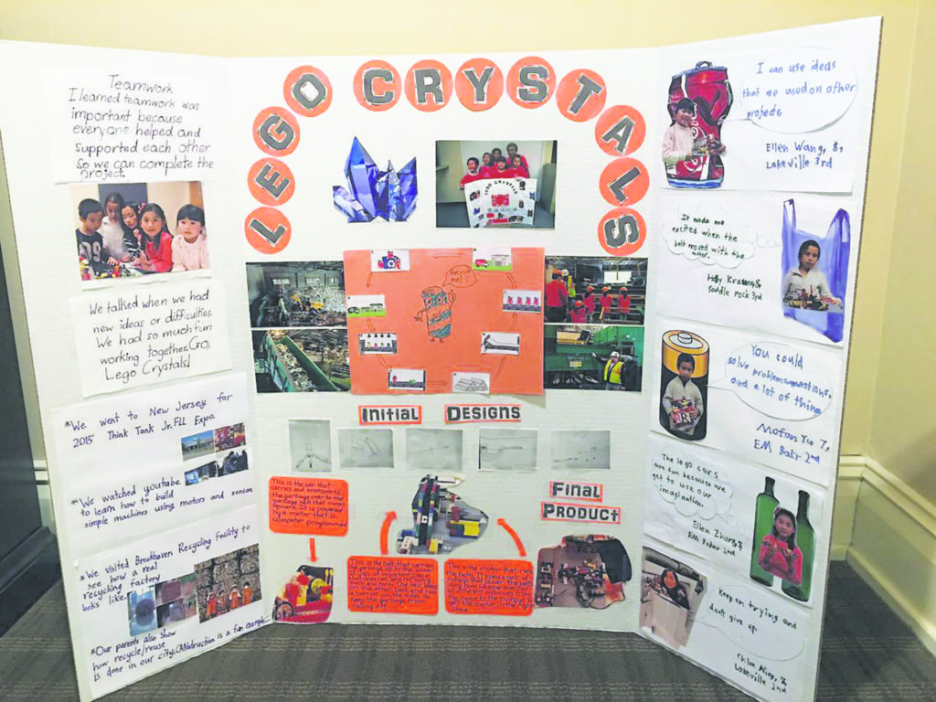 Team Lego Crystals' Poster