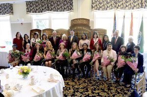The 23rd Annual May W. Newburger Women's Roll of Honor honorees with Nassau County Legislator Ellen Birnbaum, Councilwoman Dina De Giorgio, Councilman Peter Zuckerman, Town of North Hempstead Supervisor Judi Bosworth, Town  Clerk Wayne Wink, Councilwomen Viviana Russell, Lee Seeman and Anna Kaplan, and Receiver of Taxes Charles Berman