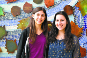 From left: founders Arielle Rothman and Shani Kahan