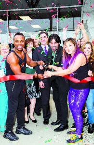 Yves Mace and Coco Xie, MC Dance & Fitness owners, were welcomed by the Great Neck Chamber of Commerce.