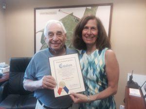 Village of Lake Success Mayor Ronald S. Cooper and Nassau County Legislator Ellen W. Birnbaum