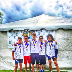 Port Rowing Freshmen Boy's 4+ wins Silver for clubs at New York State Championships.