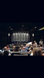 The Dolby screening room