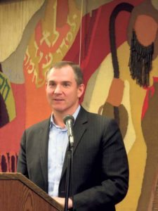 Best-selling author and New York Times columnist Frank Bruni (Photo by Sheri ArbitalJacoby)
