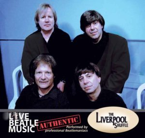 Liverpool Shuffle will perform The Beatles music this Tuesday.