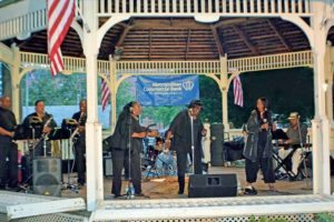 The regionally acclaimed Motown band Sugar and Spice performed at the June 28 concert.