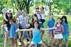 The G3A campers were ready for fun. (Photos by Alexa Cohen)