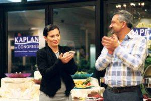 Kaplan's longtime aide, Sabereh Samet, burst into tears.