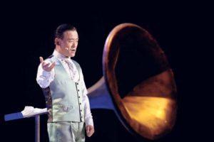 Zhou performing