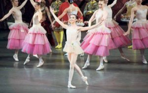 Star pupil Ashley Hod as Dewdrop in the Nutcracker last winter