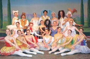 The cast of Sleeping Beauty in 2004