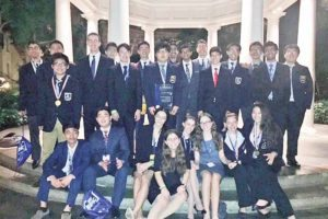 South High DECA Club members at the ICDC
