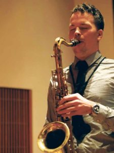 Jan Kus, a saxophone, clarinet and piano instructor