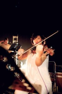 Hsinwei Chiang, the new violin instructor