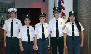 JuniorFirefightersNewOfficers