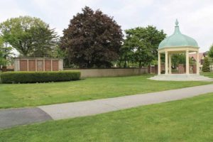 The bandstand as it appears today
