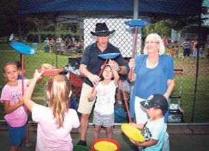 Supervisor Bosworth took part in the festivities at last year's KidStock.