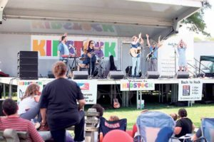 Tim Kubart and the Space Cadets, who rocked the house at the 2014 KidStock, will be returning this year.