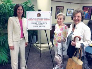 Nassau County Legislator Ellen W. Birnbaum and constituents at a past tax exemption workshop
