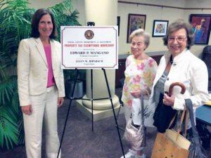 Nassau County Legislator Ellen W. Birnbaum and constituents at a past tax exemption workshop