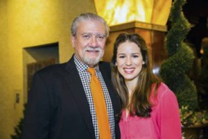 Chilina Kennedy, star of Beautiful: The Carole King Musical and John D. Kemp, president and CEO of The Viscardi Center