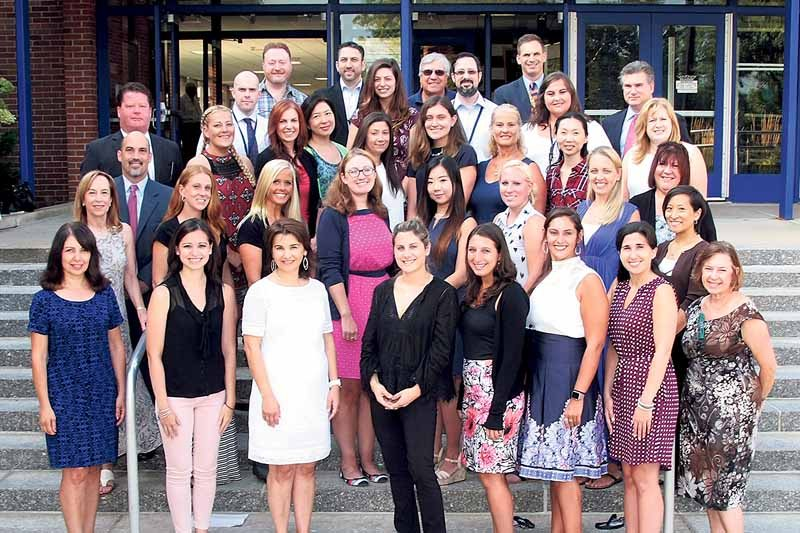 The Great Neck Public Schools welcomed new staff for 2016–17. (Photo by Irwin Mendlinger)