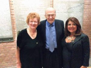 Holocaust survivors who Martha Sharp saved and brought to America when they were 9 and 10 years old with Latifa Woodhouse