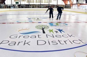 The Andrew Stergiopoulos Ice Rink, which provides a variety of recreational activities for skaters, has Jet Ice,  the company that NHL teams and rinks use, paint the ice for a brighter, more professional surface.