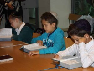 Silverstein Hebrew Academy students arrived motivated to learn and excited to reunite with the dedicated teachers and staff at the school.