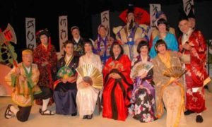 Der Yiddisher Mikado performers