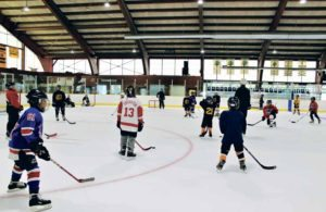 Bears Hockey offered a free clinic.