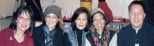 Betty Leong took this picture of May Chan, Karen Lee, Grace Tu, Lily Wang and Lee Tu at the Chinese New Year Celebration family night in January 2012.