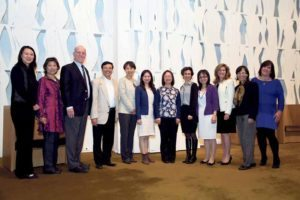 Lily Wang and Lori Beth Schwartz organized a Chinese/Jewish Yom HaShoah celebration, which was held at Temple Beth-El.