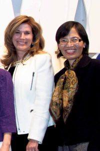 Lori Beth Schwartz and Lily Wang organized a Chinese/Jewish Yom HaShoah celebration, which was held at Temple Beth-El.