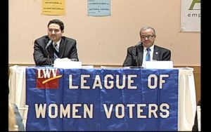 From left: candidates for the NYS Assembly District 16 seat, Matthew Varvaro (R) and Anthony D'Urso