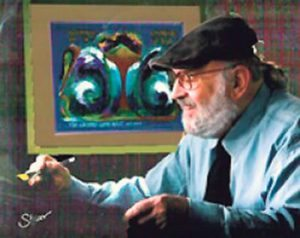 Artist-in-Residence Mordechai Rosenstein