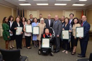 Town of North Hempstead Town Board with the 2016 Hispanic Heritage Month Honorees.