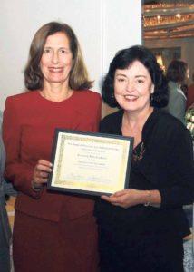 Legislator Ellen W. Birnbaum with COPAY CEO Maria Elisa Cuadra