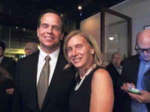 NY State Senator-elect Elaine Phillips with husband, Andy