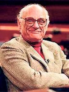 Temple Emanuel of Great Neck and the Great Neck Library are cosponsoring Arthur Miller at 100, which will be performed by Shirley Romaine at Temple Emanuel.