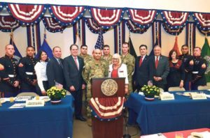 The Town of North Hempstead celebrated veteran residents at the annual breakfast.