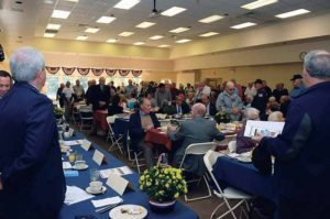 Veterans Breakfast attendees