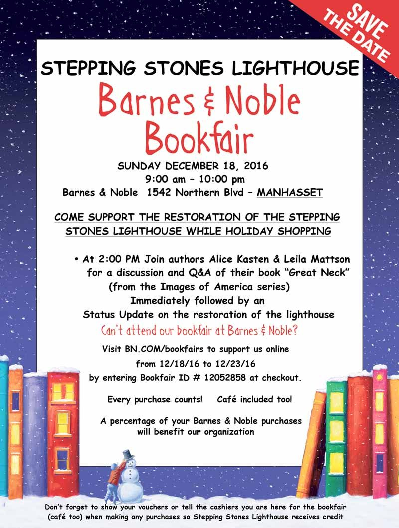 Help Stepping Stones Lighthouse By Shopping At Barnes