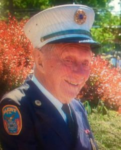George B. Motchkavitz in his fire department uniform