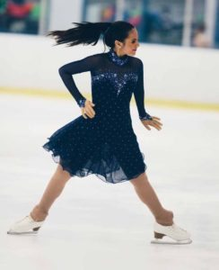 Ilana Sedaka is skating the grown-up version of the role she portrayed as a little girl.
