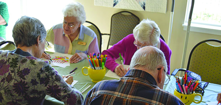 town activities for senior citizens