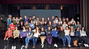 North High's Thespian Show will be presented on Jan. 12, 13 and 14. (Photo by Bill Cancellare)