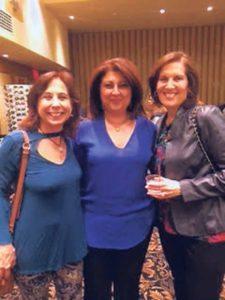 From left: Lisa Kaplan, Liza A. Schwartz and Harriet Finkelstein