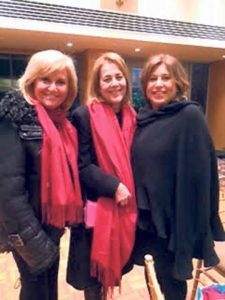 From left: Jayne Karlin, Sharon Cohen and Meryl Faber